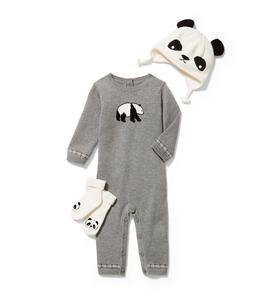 Baby 3-Piece Panda Gift Box