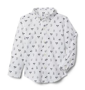 Disney Mickey And Friends Oxford Shirt
