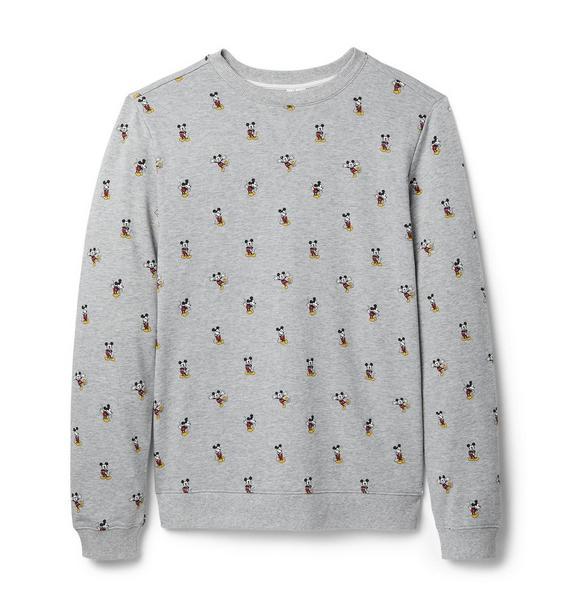 Disney Mickey Mouse Icon Adult Sweatshirt