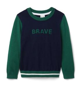 Brave Colorblocked Sweater