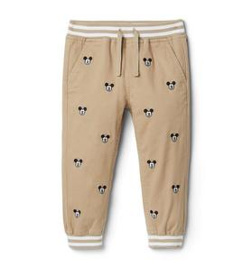 Disney Mickey Mouse Embroidered Jogger