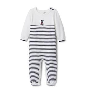 Disney Mickey Mouse Baby Striped 1-Piece