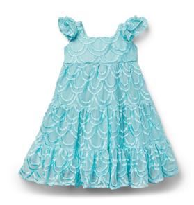 Disney Ariel Tulle Embroidered Dress