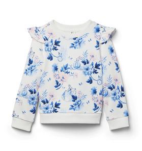 Disney Cinderella Floral Sweatshirt