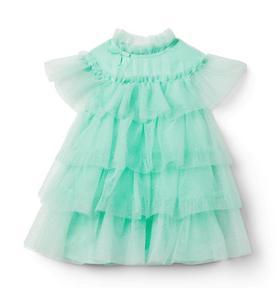 Disney Tiana Glitter Tulle Dress