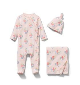 Baby 3-Piece Floral Gift Box