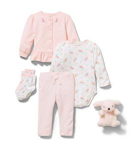 Baby 5-Piece Pink Gift Box