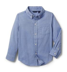 Brushed Twill Button-Up Shirt