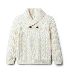 The Shawl Collar Sweater