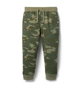 The Camo French Terry Jogger