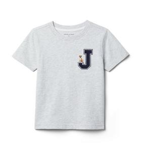 J Logo Dog Tee
