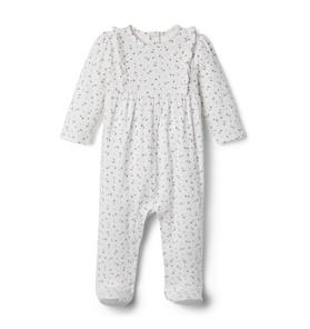 Baby Ditsy Floral Footed 1-Piece