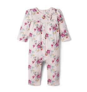Baby Floral Quilted 1-Piece