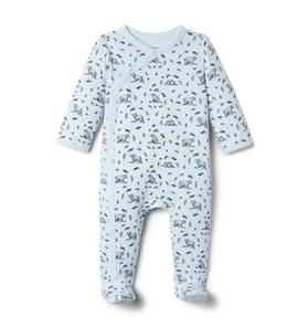 Baby Bear Footed 1-Piece