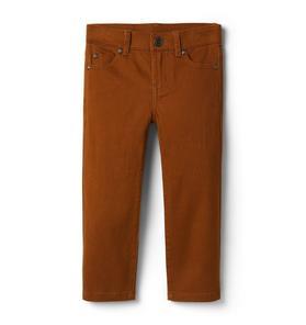 Sateen Straight Pant