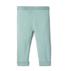Baby Cuffed Ribbed Sweater Pant