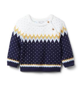 Baby Fair Isle Sweater