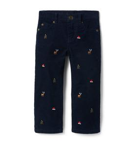Holiday Stretch Corduroy Pant