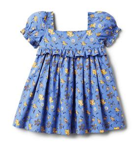 Baby Floral Puff Sleeve Dress
