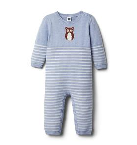 Baby Striped Owl 1-Piece