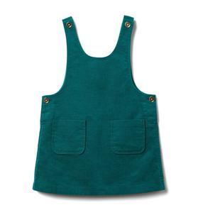 Patch Pocket Jumper Dress