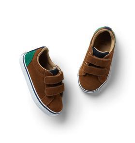 Suede Colorblocked Sneaker