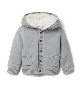 Baby Bear Hooded Cardigan