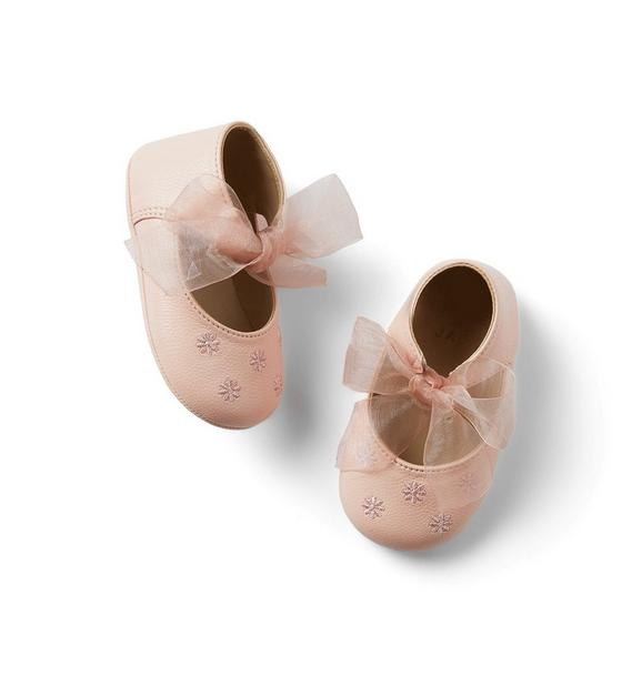 Baby Embroidered Flat