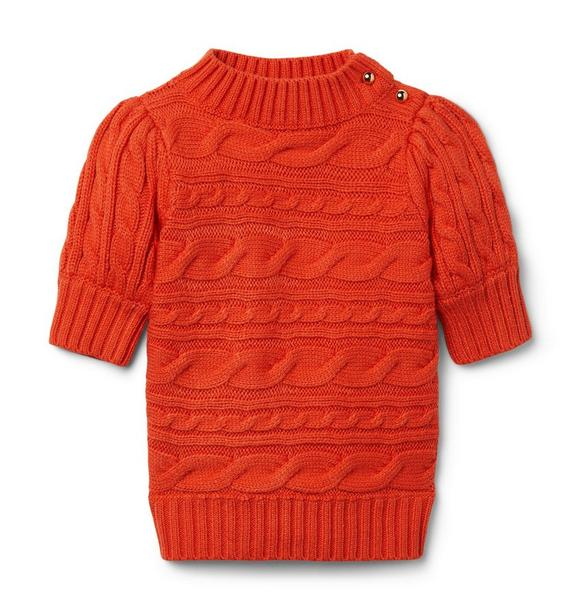 Janie and Jack Cable Knit Sweater