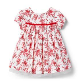 Baby Toile Dress