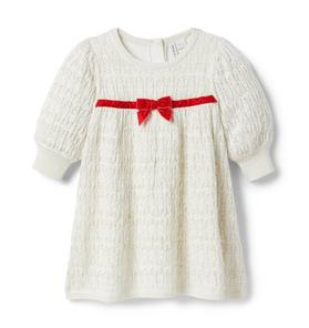 Baby Shimmer Sweater Dress