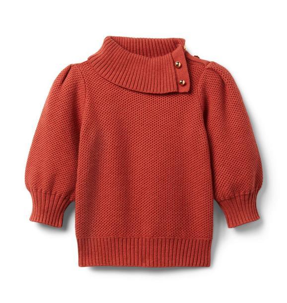 Janie and Jack Puff Sleeve Sweater