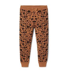 Leopard Sweater Pant