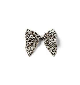 Leopard Bow Barrette