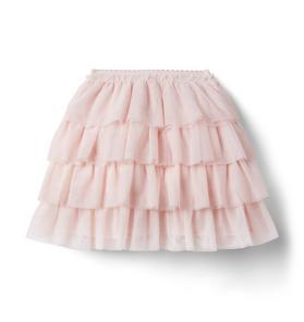 Brown Girls Do Ballet Tiered Tulle Skirt