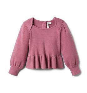 Brown Girls Do Ballet Peplum Sweater