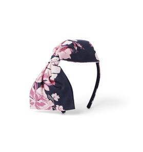 Brown Girls Do Ballet Floral Bow Headband
