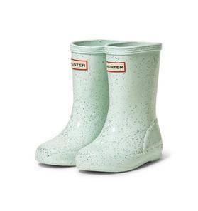 Hunter Original Kids First Classic Glitter Rain Boot