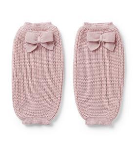 Brown Girls Do Ballet Knit Bow Leg Warmer