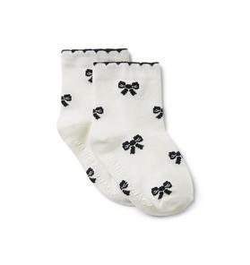 Baby Bow Sock