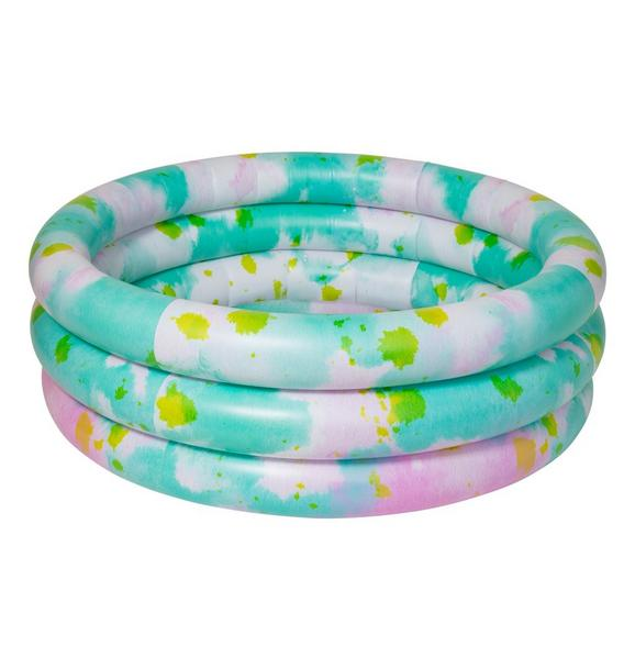 Janie and Jack Sunnylife Tie Dye Inflatable Pool