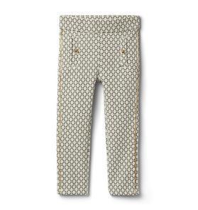 Metallic Weave Jacquard Pant