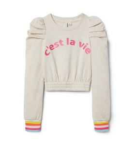 C'est La Vie Sweatshirt