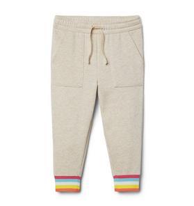 Rainbow Cuff Jogger