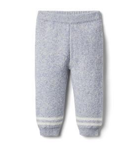 Baby Striped Cuff Sweater Pant