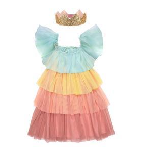 Meri Meri Rainbow Ruffle Princess Dress-Up Set