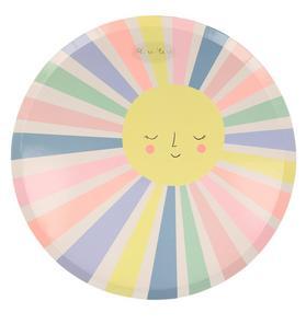 Meri Meri Rainbow Sun Dinner Plate Set