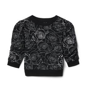 Kimberly Goldson Rose Sweatshirt