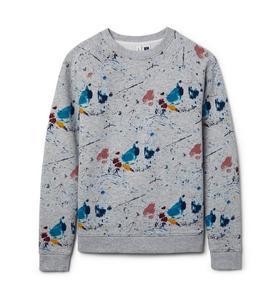 Richfresh Paint Splatter Sweatshirt
