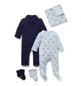 Baby 4-Piece Bear Gift Box